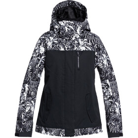 Roxy Jetty Block Snow Jacket Women, true black tiger camo